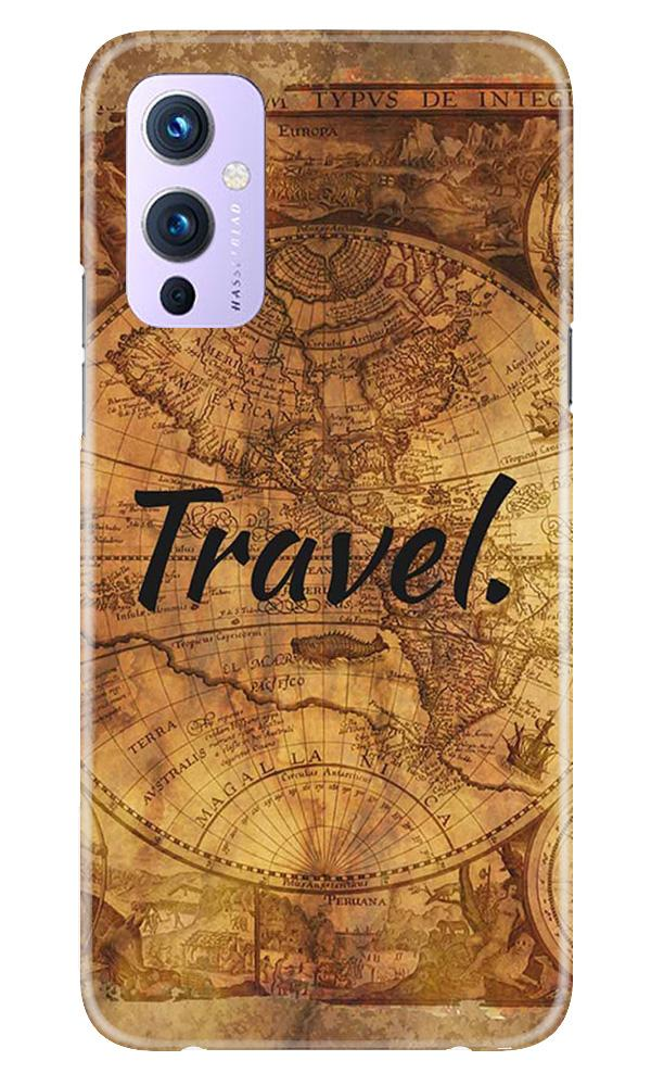 Travel Mobile Back Case for OnePlus 9 (Design - 375)