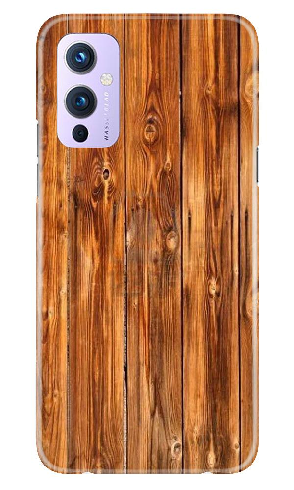 Wooden Texture Mobile Back Case for OnePlus 9 (Design - 376)