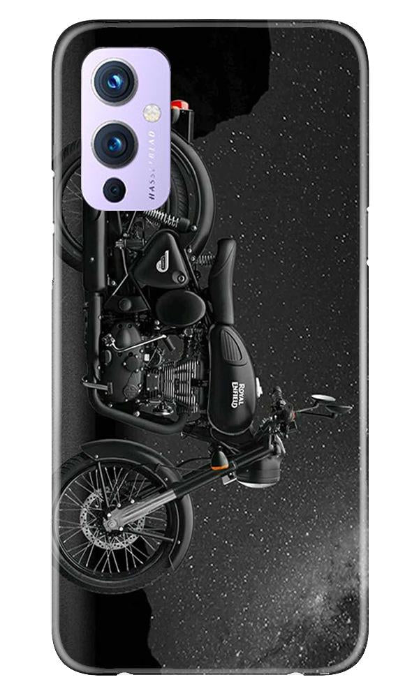 Royal Enfield Mobile Back Case for OnePlus 9 (Design - 381)