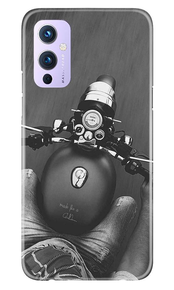Royal Enfield Mobile Back Case for OnePlus 9 (Design - 382)