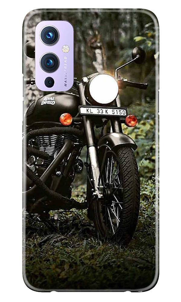 Royal Enfield Mobile Back Case for OnePlus 9 (Design - 384)