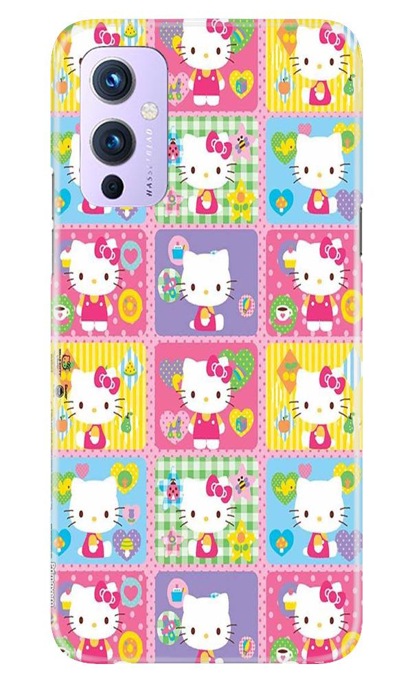 Kitty Mobile Back Case for OnePlus 9 (Design - 400)
