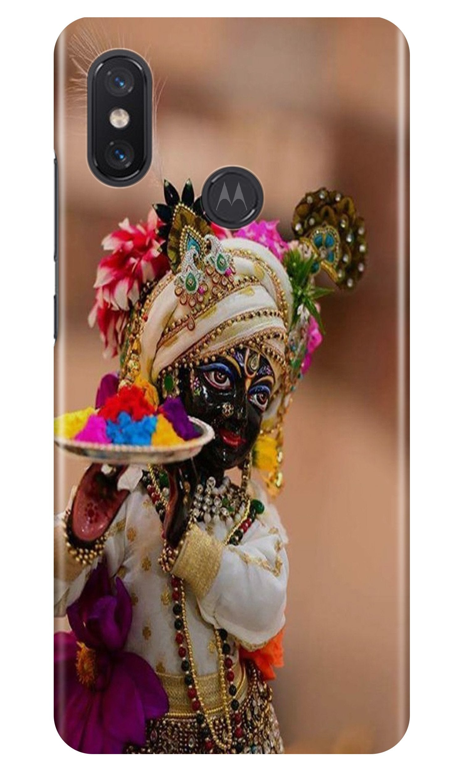 Lord Krishna2 Case for Moto One Power