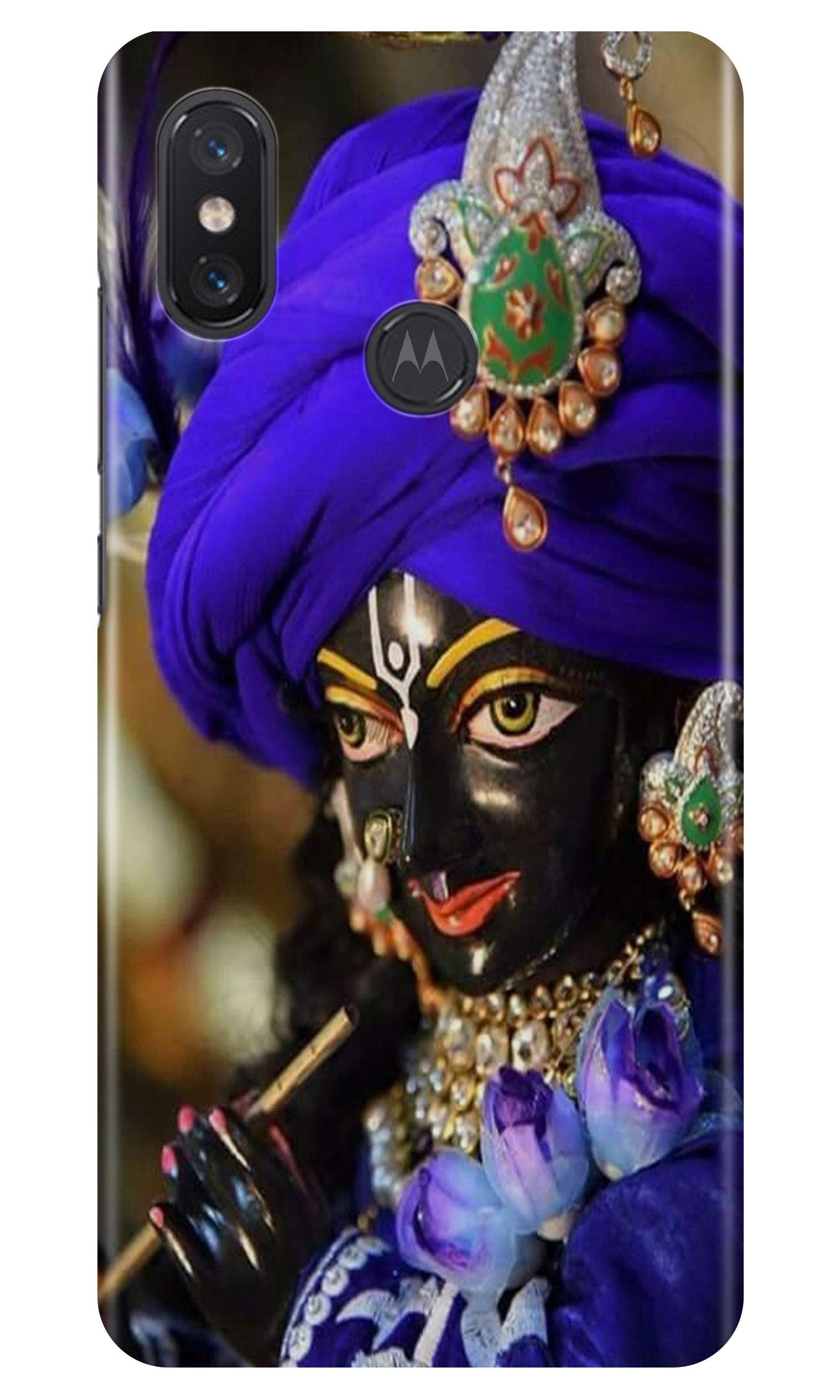 Lord Krishna4 Case for Moto One Power
