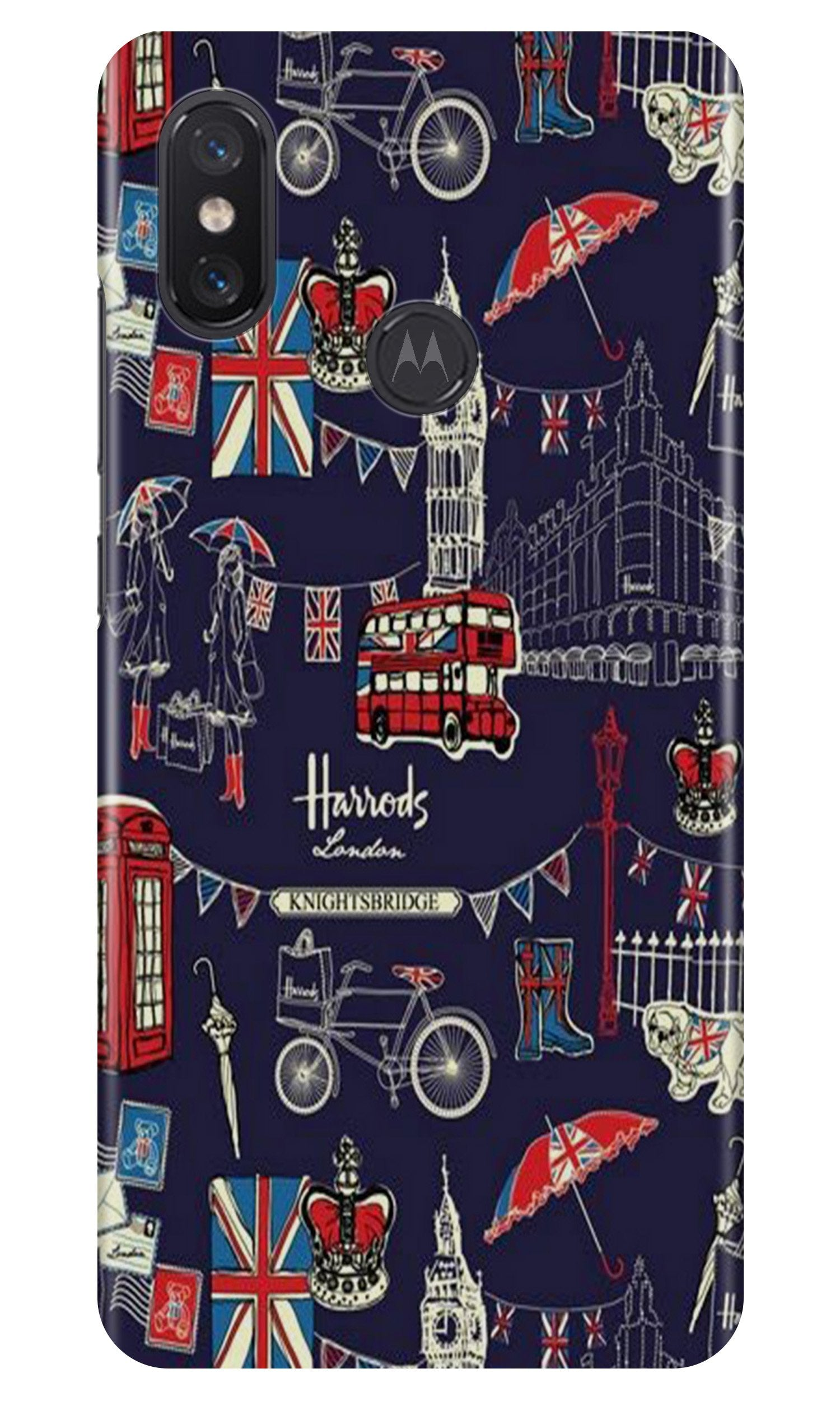 Love London Case for Moto One Power