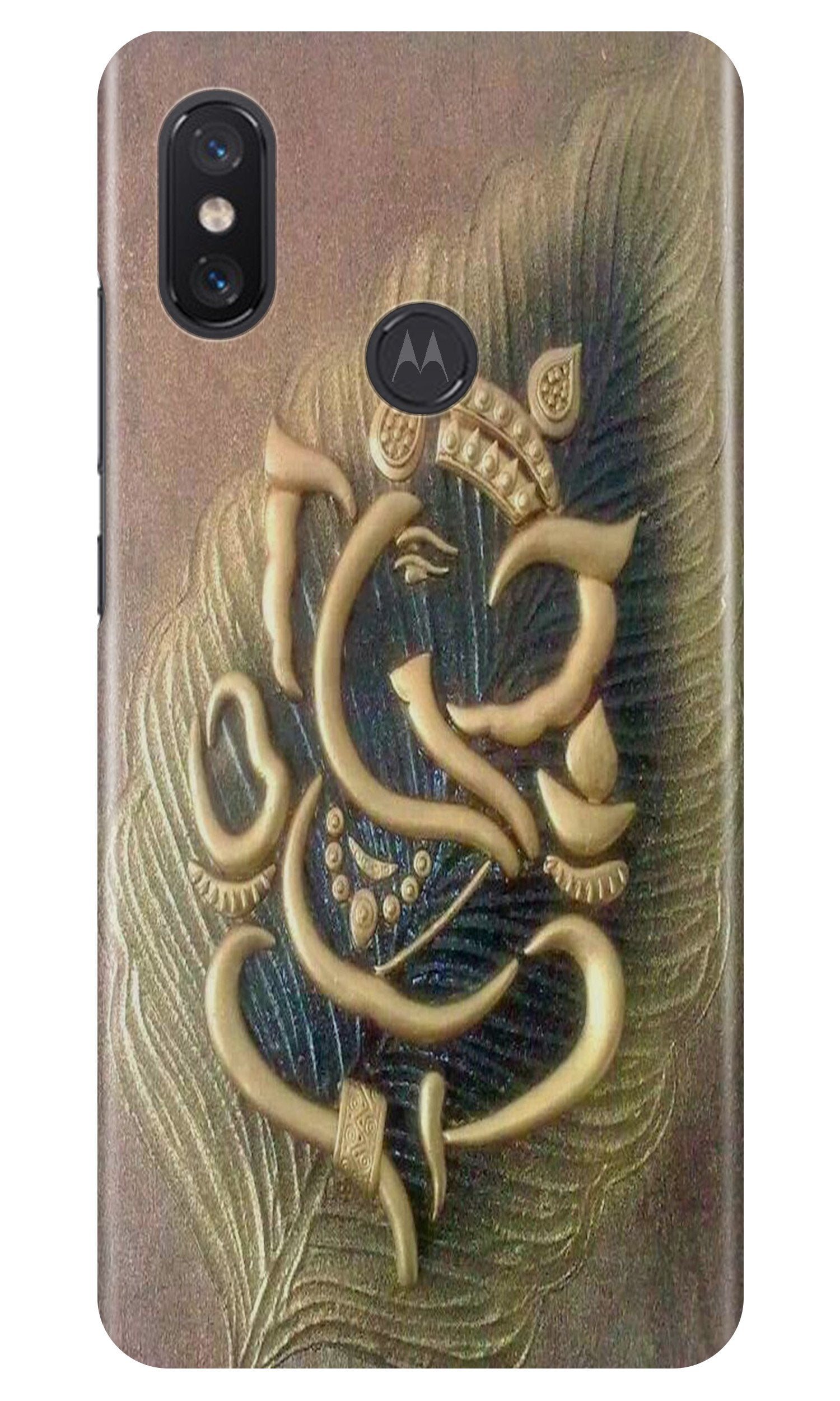 Lord Ganesha Case for Moto One Power
