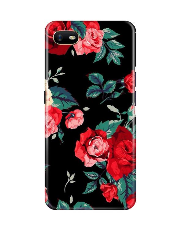 Red Rose2 Case for Oppo A1K