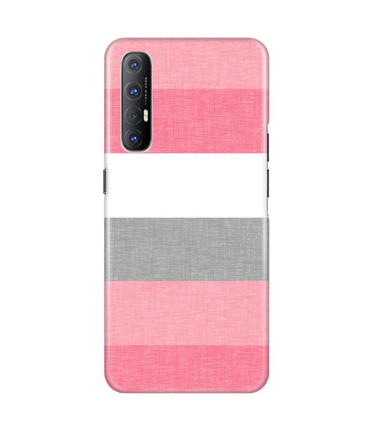 Pink white pattern Case for Oppo Reno3 Pro
