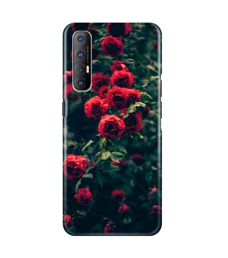 Red Rose Case for Oppo Reno3 Pro