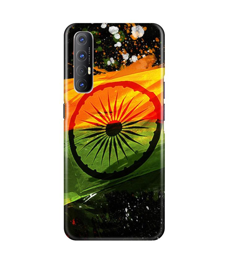 Indian Flag Case for Oppo Reno3 Pro  (Design - 137)