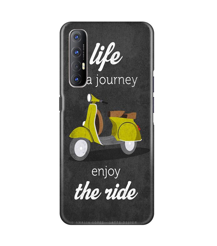 Life is a Journey Case for Oppo Reno3 Pro (Design No. 261)