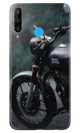 Royal Enfield Mobile Back Case for Huawei P30 Lite (Design - 380)