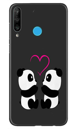 Panda Love Mobile Back Case for Huawei P30 Lite (Design - 398)
