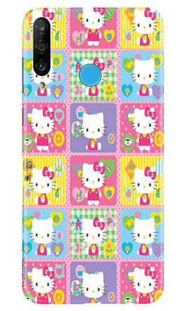 Kitty Mobile Back Case for Huawei P30 Lite (Design - 400)