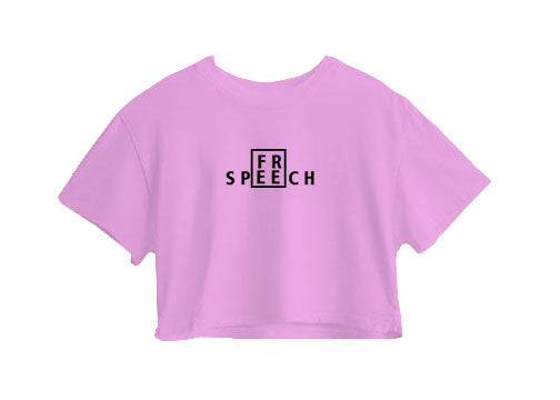 Freespeech Crop Top