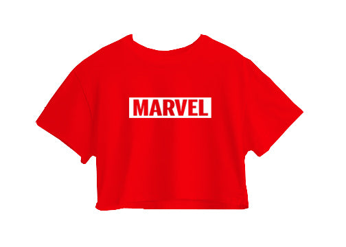 MARVEL CROP TOP