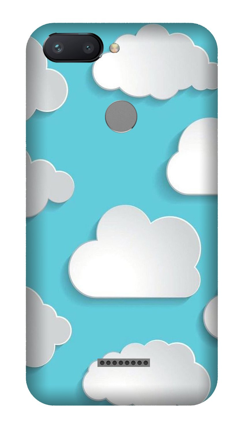 Clouds Case for Xiaomi Redmi 6 (Design No. 210)