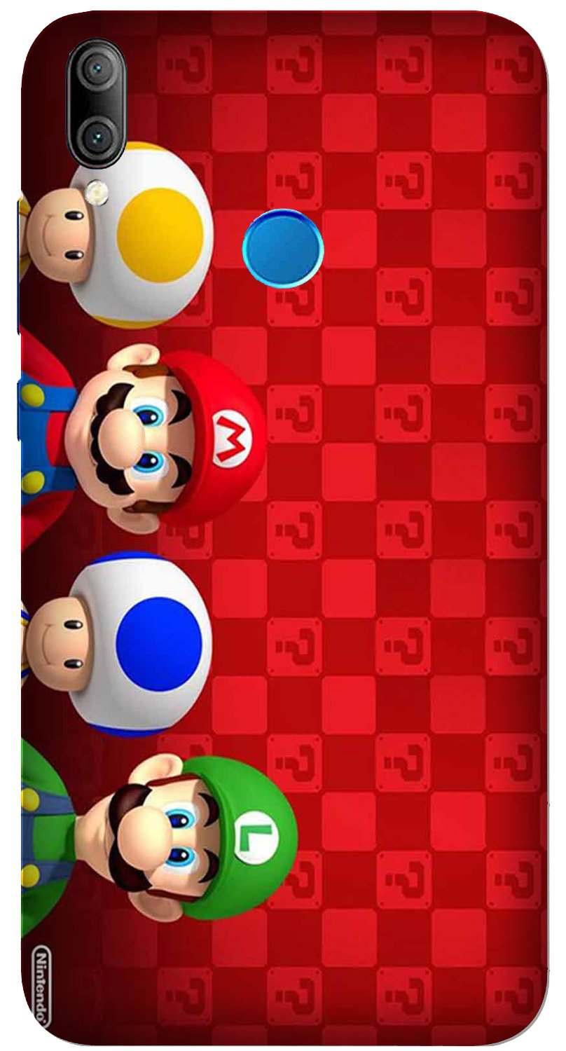 Mario Mobile Back Case for Xiaomi Redmi Y3  (Design - 337)
