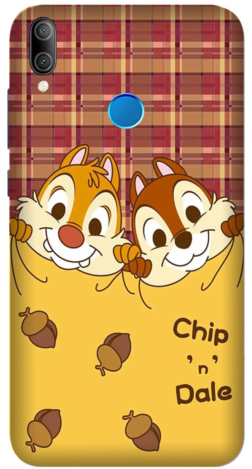Chip n Dale Mobile Back Case for Xiaomi Redmi Y3  (Design - 342)