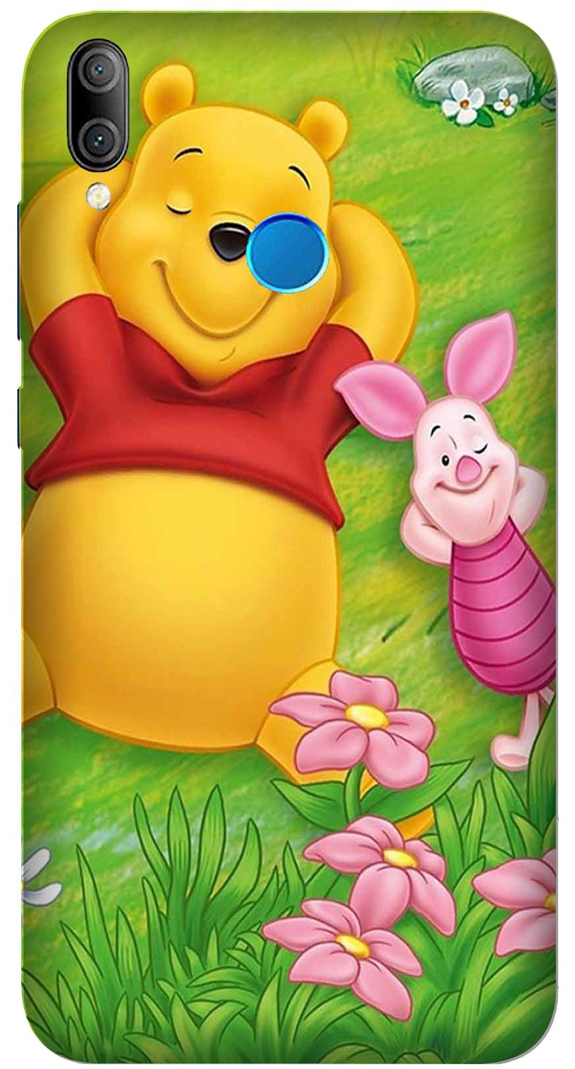 Winnie The Pooh Mobile Back Case for Xiaomi Redmi Y3  (Design - 348)
