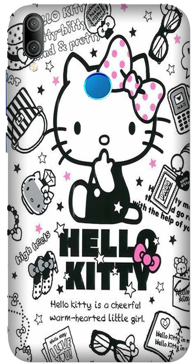 Hello Kitty Mobile Back Case for Xiaomi Redmi Y3  (Design - 361)