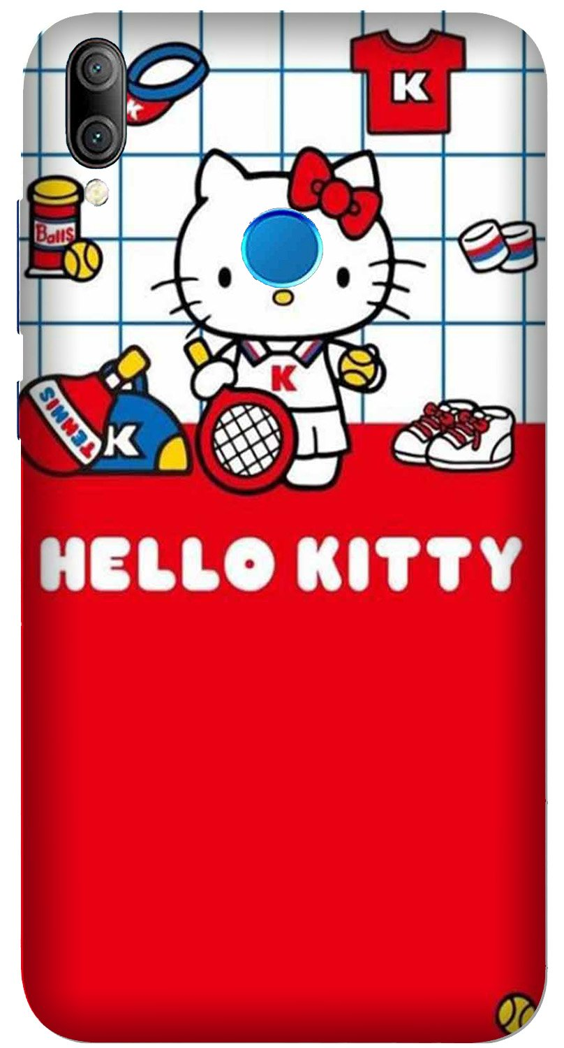 Hello Kitty Mobile Back Case for Xiaomi Redmi Y3  (Design - 363)