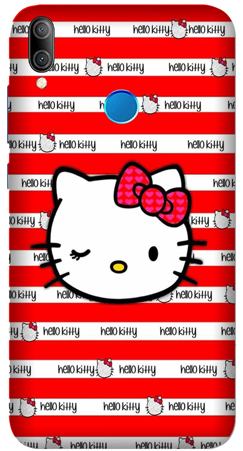 Hello Kitty Mobile Back Case for Xiaomi Redmi Y3  (Design - 364)