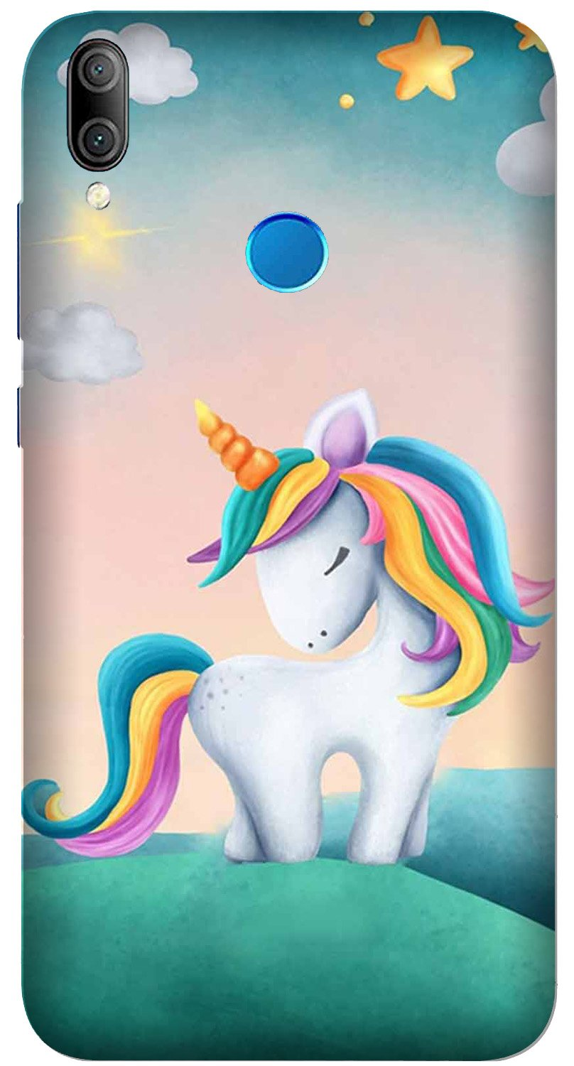 Unicorn Mobile Back Case for Xiaomi Redmi Y3  (Design - 366)