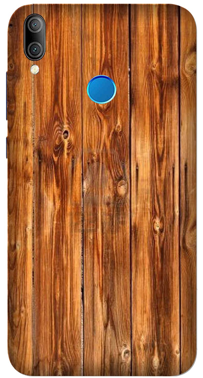 Wooden Texture Mobile Back Case for Xiaomi Redmi Y3  (Design - 376)