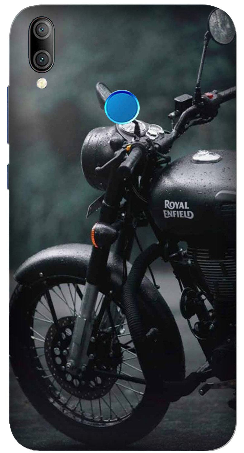 Royal Enfield Mobile Back Case for Xiaomi Redmi Y3  (Design - 380)