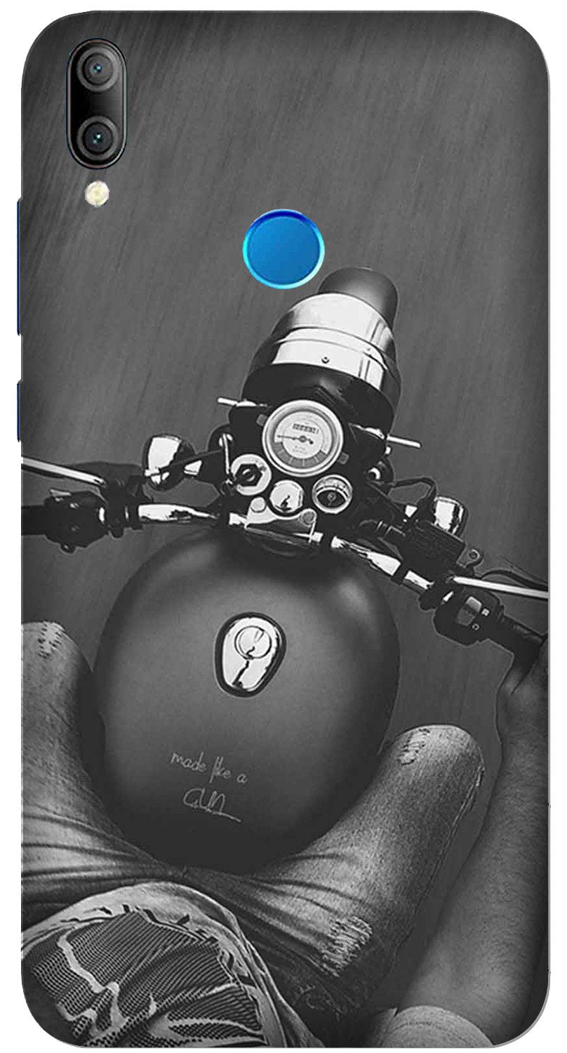 Royal Enfield Mobile Back Case for Xiaomi Redmi Y3  (Design - 382)