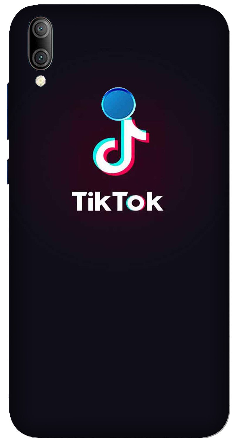 Tiktok Mobile Back Case for Xiaomi Redmi Y3  (Design - 396)