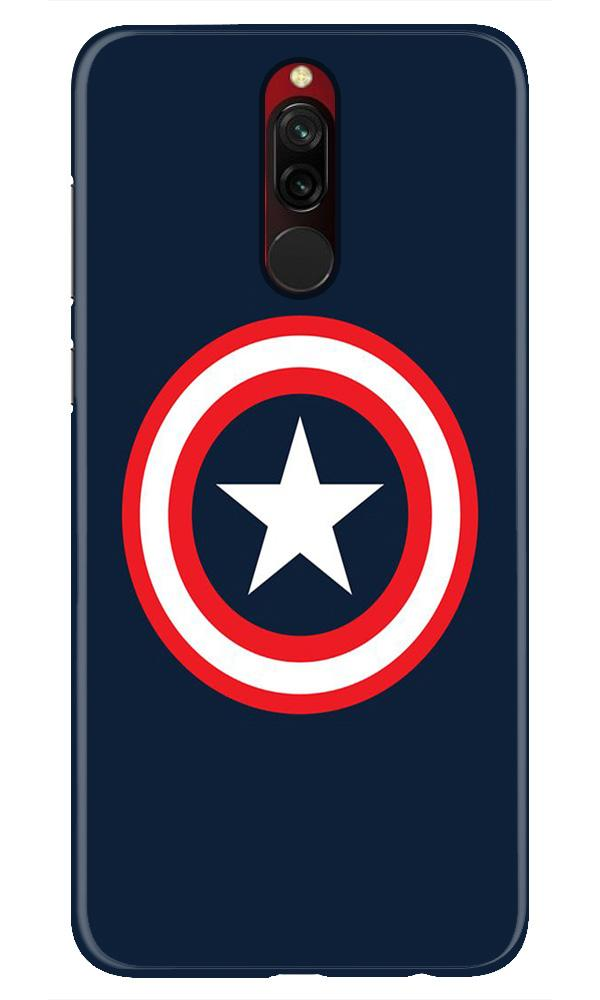 Captain America Case for Xiaomi Redmi 8