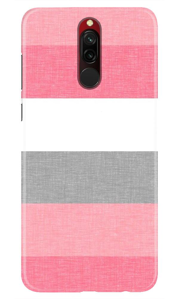 Pink white pattern Case for Xiaomi Redmi 8
