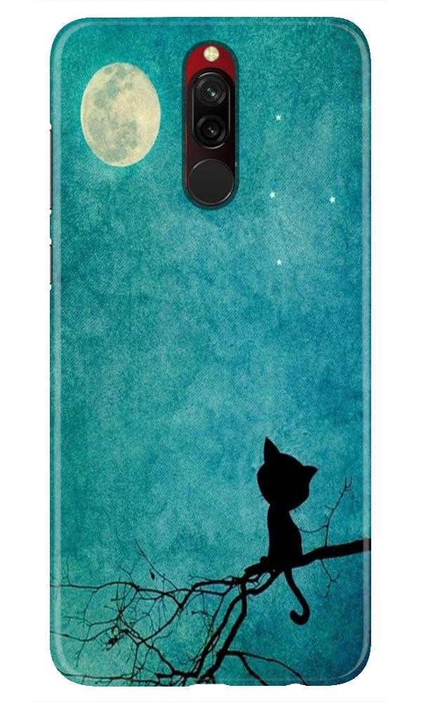 Moon cat Case for Xiaomi Redmi 8