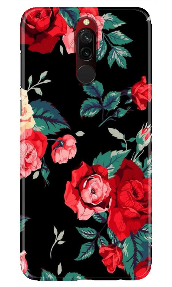 Red Rose2 Case for Xiaomi Redmi 8