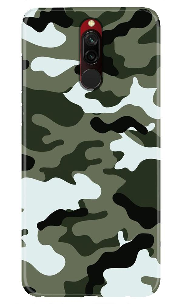 Army Camouflage Case for Xiaomi Redmi 8  (Design - 108)