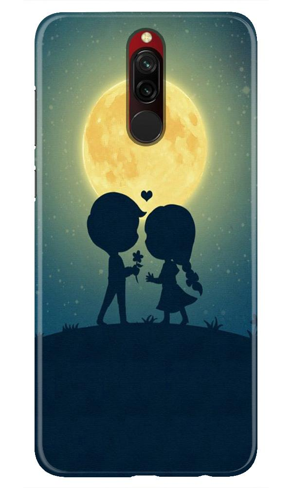 Love Couple Case for Xiaomi Redmi 8  (Design - 109)