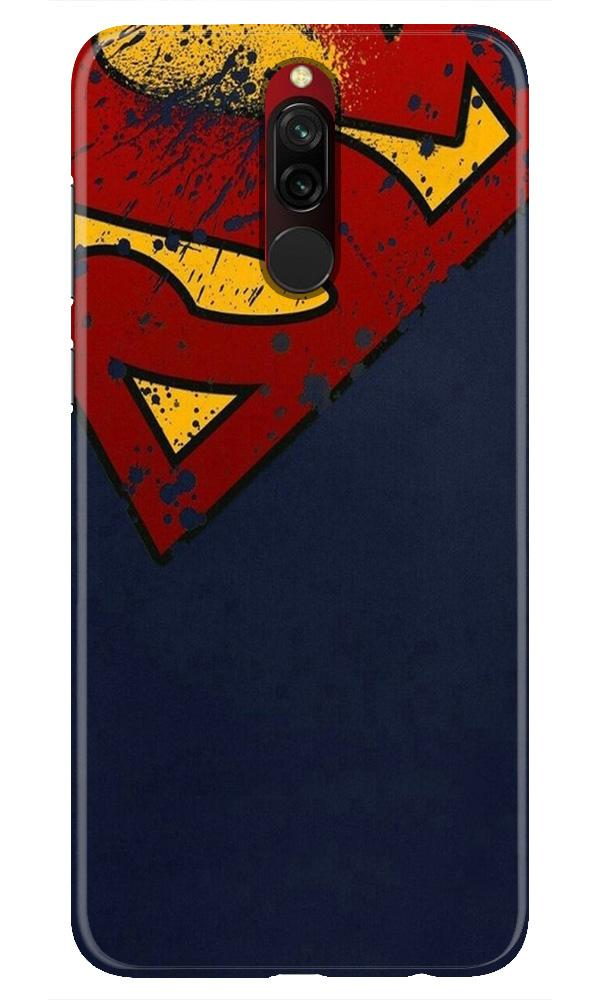 Superman Superhero Case for Xiaomi Redmi 8  (Design - 125)