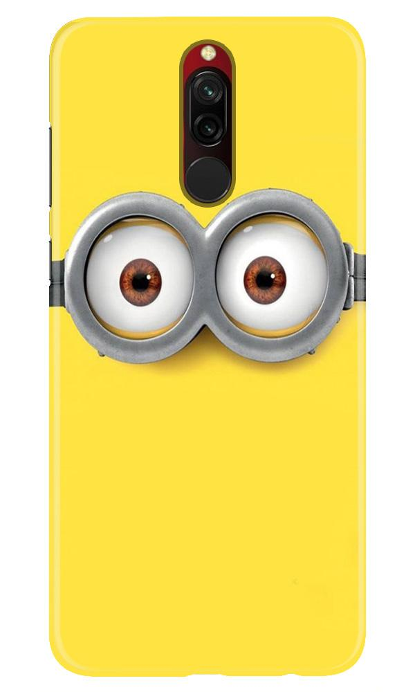 Minions Case for Xiaomi Redmi 8  (Design - 128)