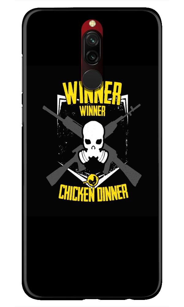 Winner Winner Chicken Dinner Case for Xiaomi Redmi 8  (Design - 178)
