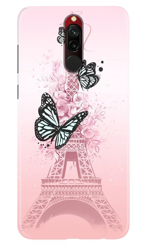 Eiffel Tower Case for Xiaomi Redmi 8 (Design No. 211)
