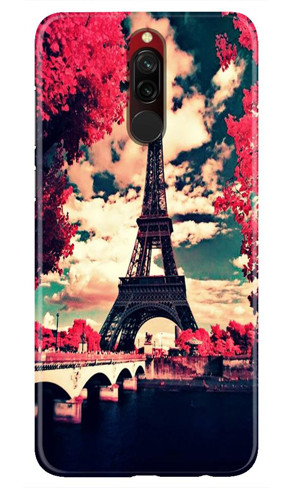 Eiffel Tower Case for Xiaomi Redmi 8 (Design No. 212)