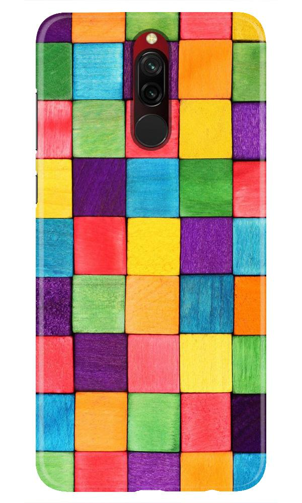 Colorful Square Case for Xiaomi Redmi 8 (Design No. 218)