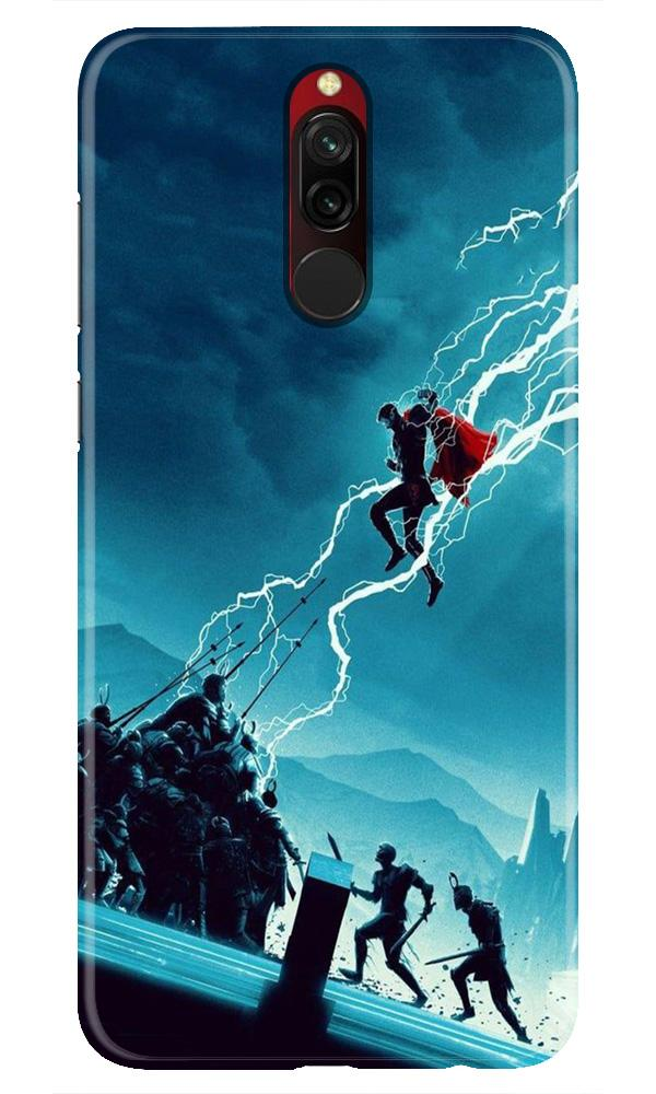 Thor Avengers Case for Xiaomi Redmi 8 (Design No. 243)