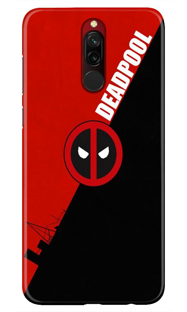 Deadpool Case for Xiaomi Redmi 8 (Design No. 248)