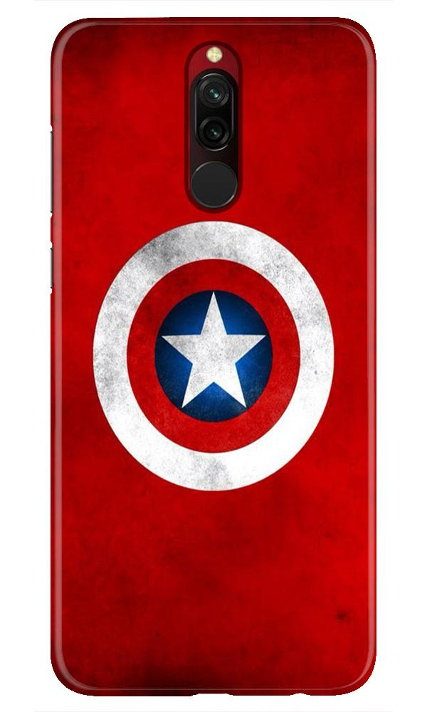 Captain America Case for Xiaomi Redmi 8 (Design No. 249)