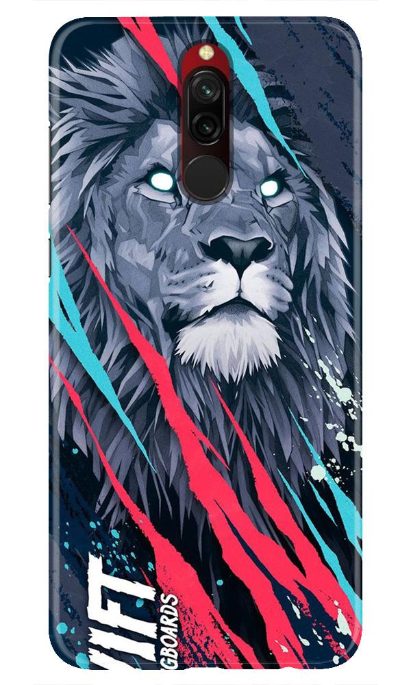 Lion Case for Xiaomi Redmi 8 (Design No. 278)