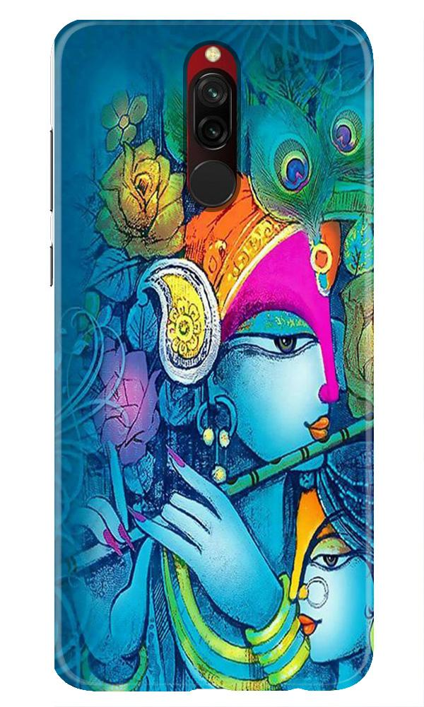 Radha Krishna Case for Xiaomi Redmi 8 (Design No. 288)