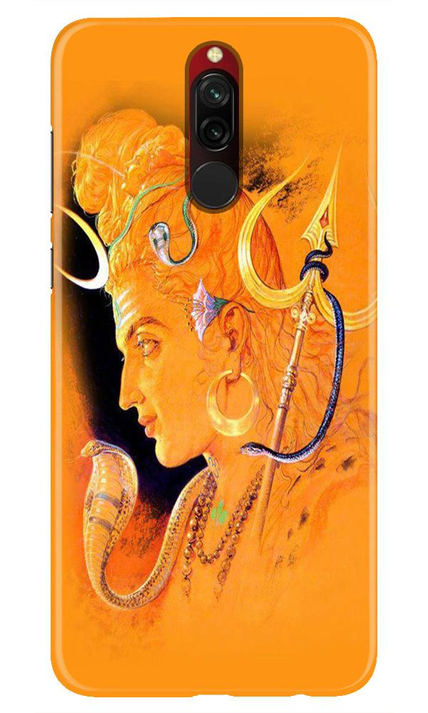 Lord Shiva Case for Xiaomi Redmi 8 (Design No. 293)